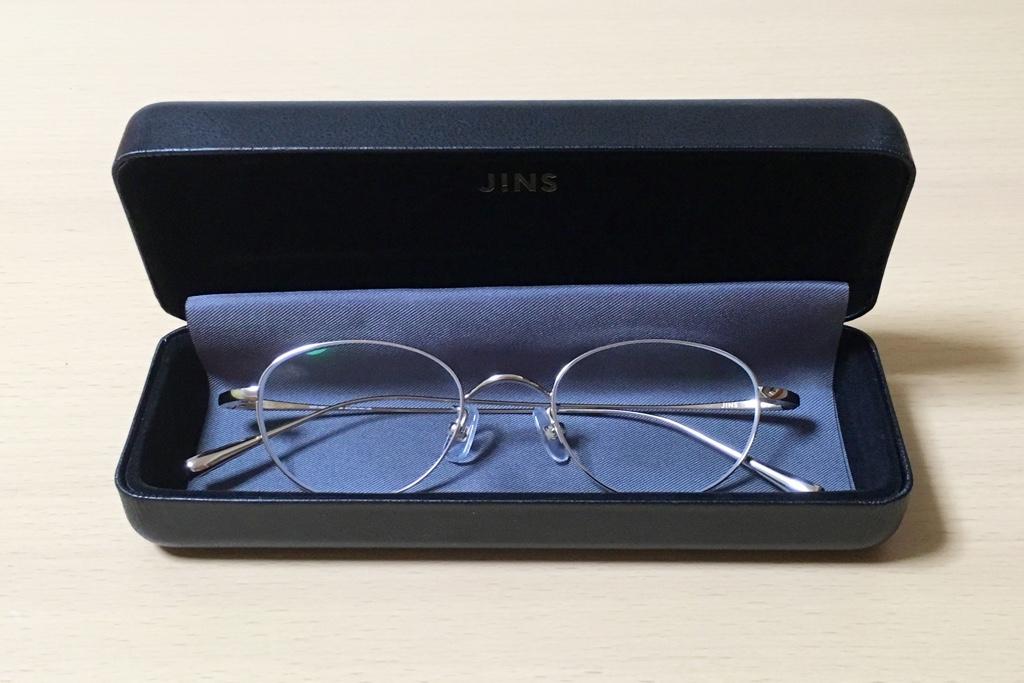 JINSの鯖江メガネケース