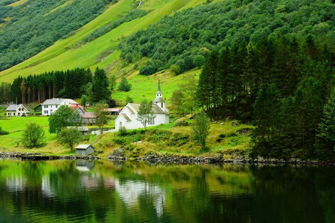 北欧の自然