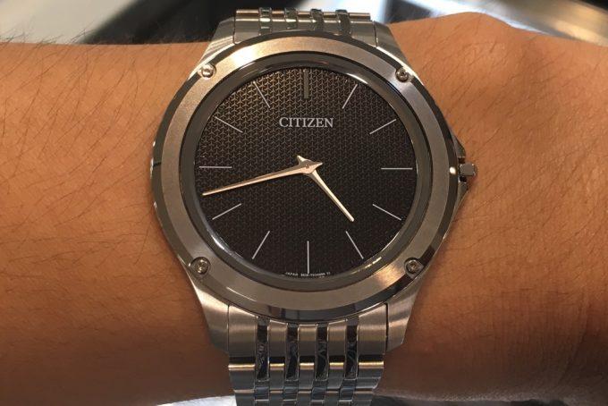 quality design a500c cb0a4 シチズンのエコ・ドライブ ワンをレビュー!衝撃の時計を評価し ...