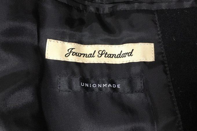 ジャーナルスタンダードのチェスターコート ロゴ