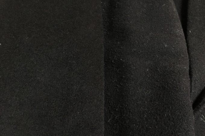 ユニクロとジャーナルスタンダードのチェスターコート 素材アップ