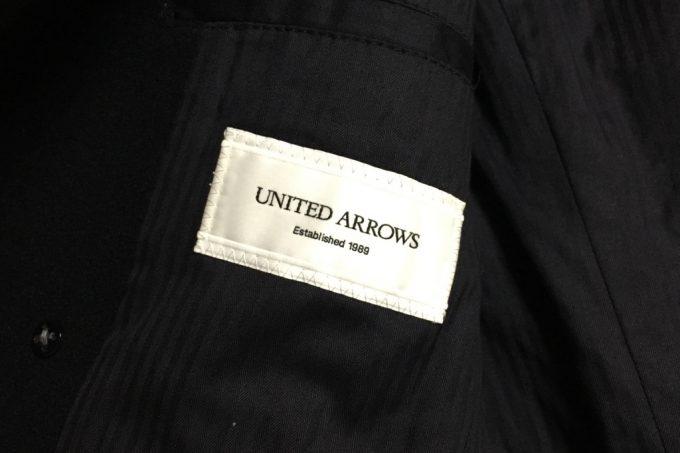 ユナイテッドアローズのPコート ロゴ