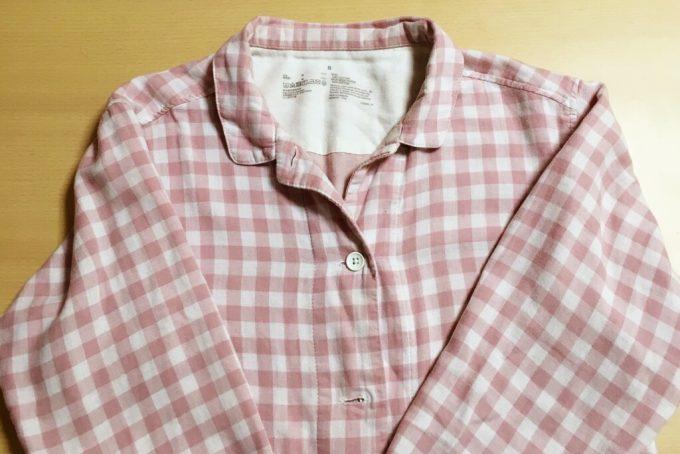 レディースの無印良品「脇に縫い目のない二重ガーゼパジャマ」を一年着た感想