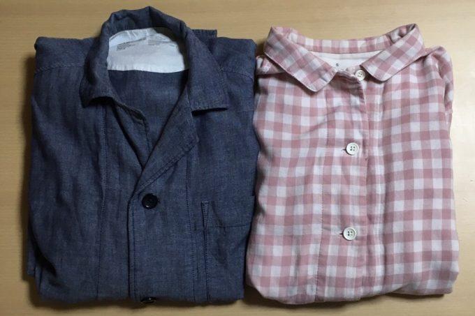 無印良品「脇に縫い目のない二重ガーゼパジャマ」メンズとレディース