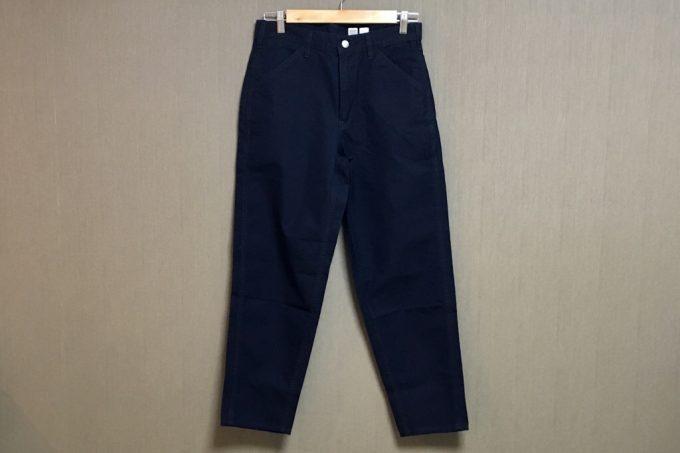 ユニクロユー2018春夏メンズ  ワイドフィットテーパードジーンズ 全体