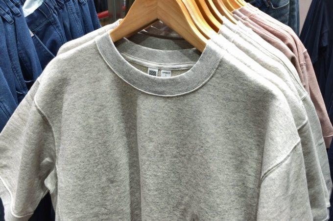 ユニクロユー2018春夏メンズ  スウェットシャツ(半袖)