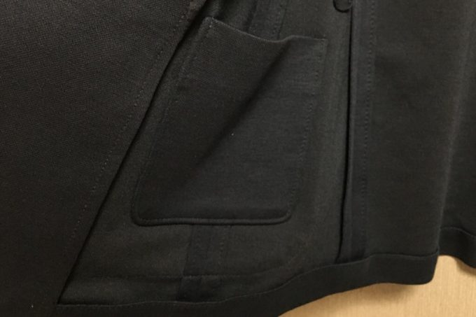 コンフォートジャケット 右の内ポケット