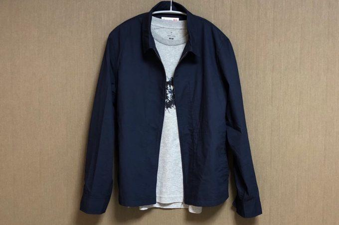【トーマスマイヤー×ユニクロ】 コットンジップアップブルゾンとプリントTシャツ