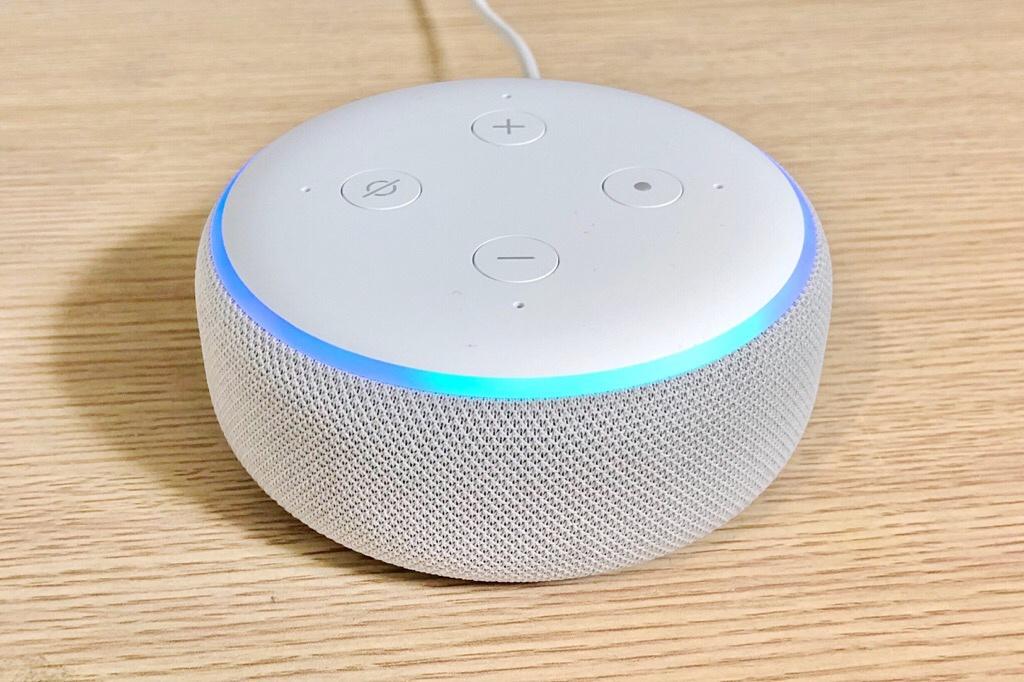 Amazon Echo Dot 外観