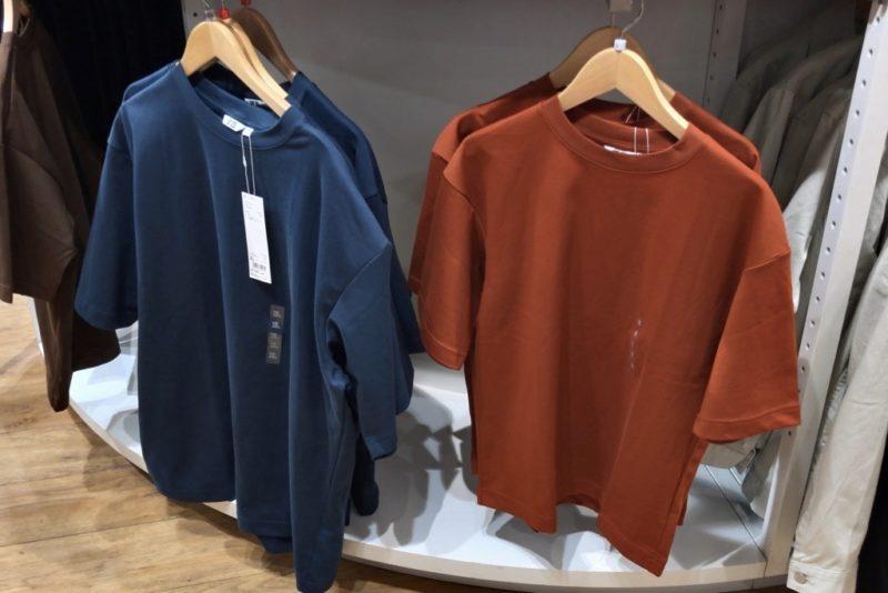 エアリズムコットンオーバーサイズTシャツ(5分袖)