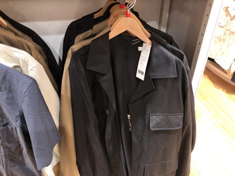 ミリタリージャージーシャツ(長袖)